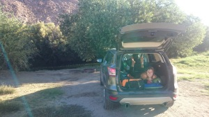 Car camping, Pleasant Valley