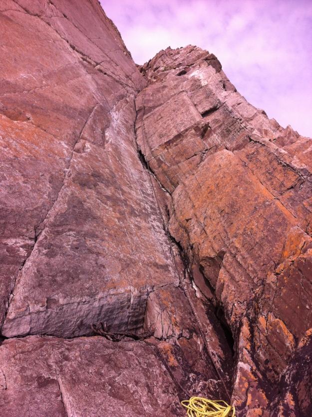 Craig Caerfai abseil/approach gully