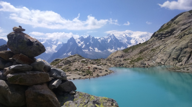 Saving the best for last, Lac Blanc on the final day of the TDM